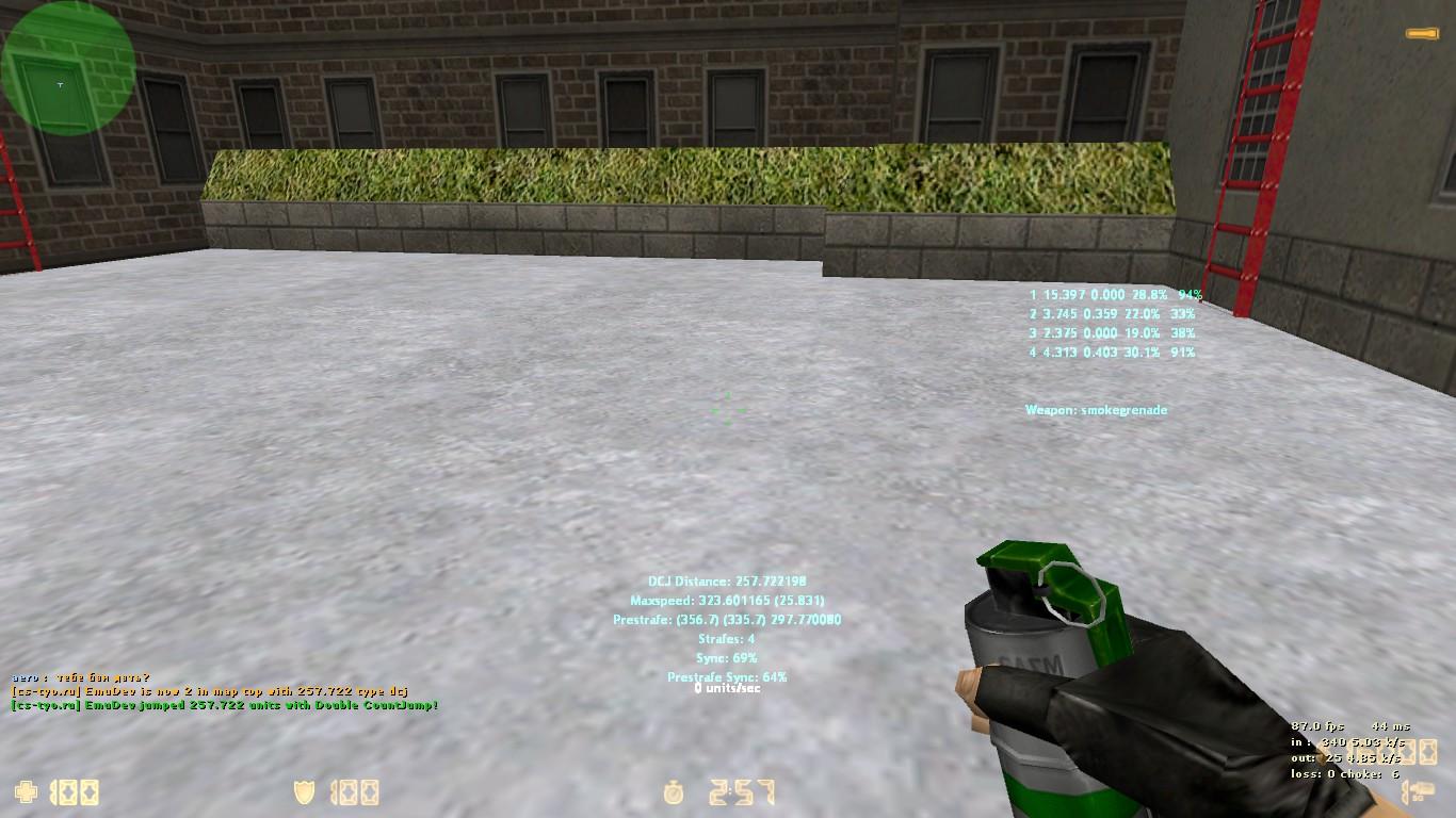 Как сделать дабл дак для кс 1.6
